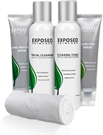Exposed Skincare Product Image